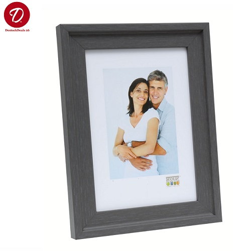 Deknudt Frames S67AH1 Cadre Photo M/étal Argent/é Brillant 10 x 15 cm