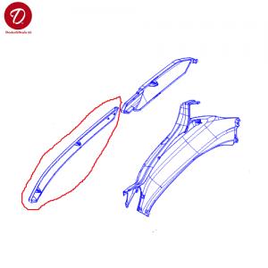 Couvertures laterales spoiler piaggio piaggio scooter 125 x evo 2016 x evo euro 3 46