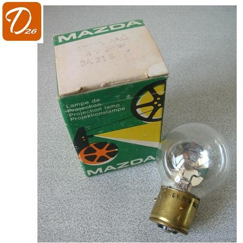 Lampe miroir de projection mazda ba21s 6v 30